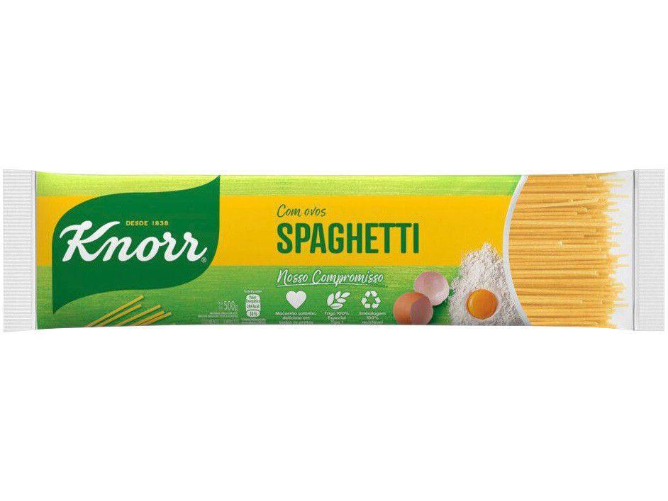 Macarrão Espaguete Sêmola com Ovos Knorr Seco - Spaghetti 500g
