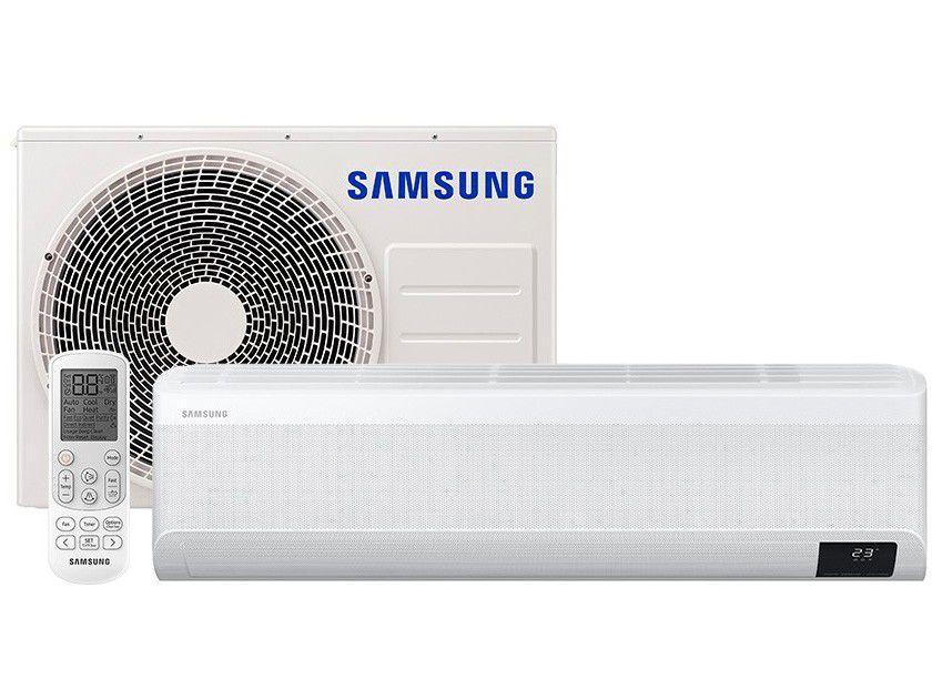 Ar-condicionado Split Inverter Samsung WindFree - Plus 22.000 BTUs Quente e Frio AR24TSEABWKNAZ