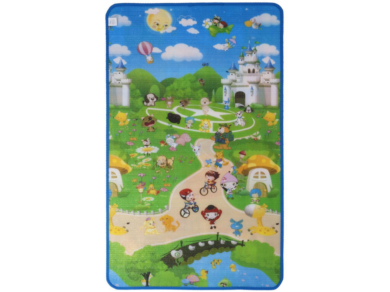 Tapete Infantil Alfabetos para Quarto Retangular - Recreio Play ABC 90x150cm Jolitex
