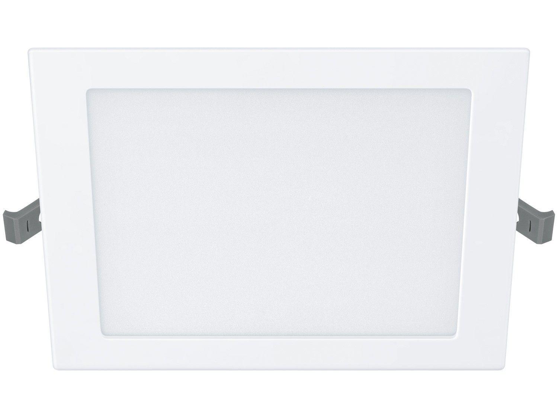 Plafon de Sobrepor Quadrado Branco - com Lâmpada Integrada LED 12W Philips DL252