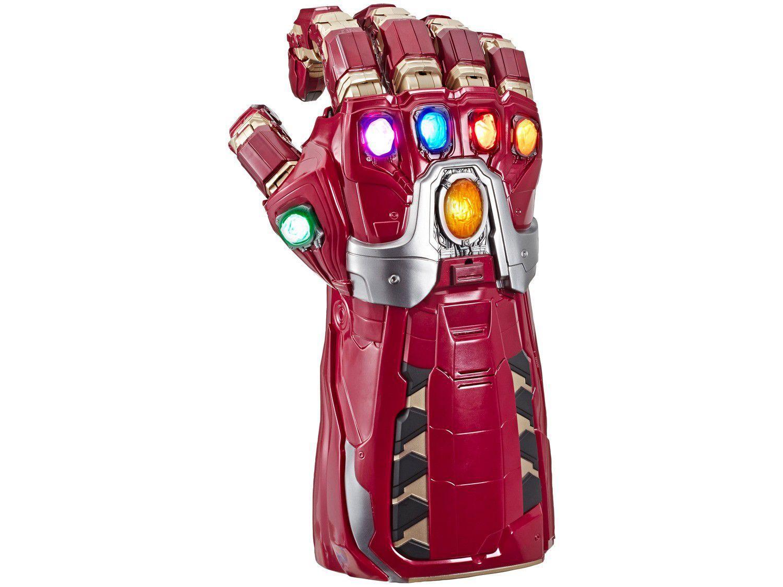 Manopla do Infinito Homem de Ferro Marvel - Vermelha