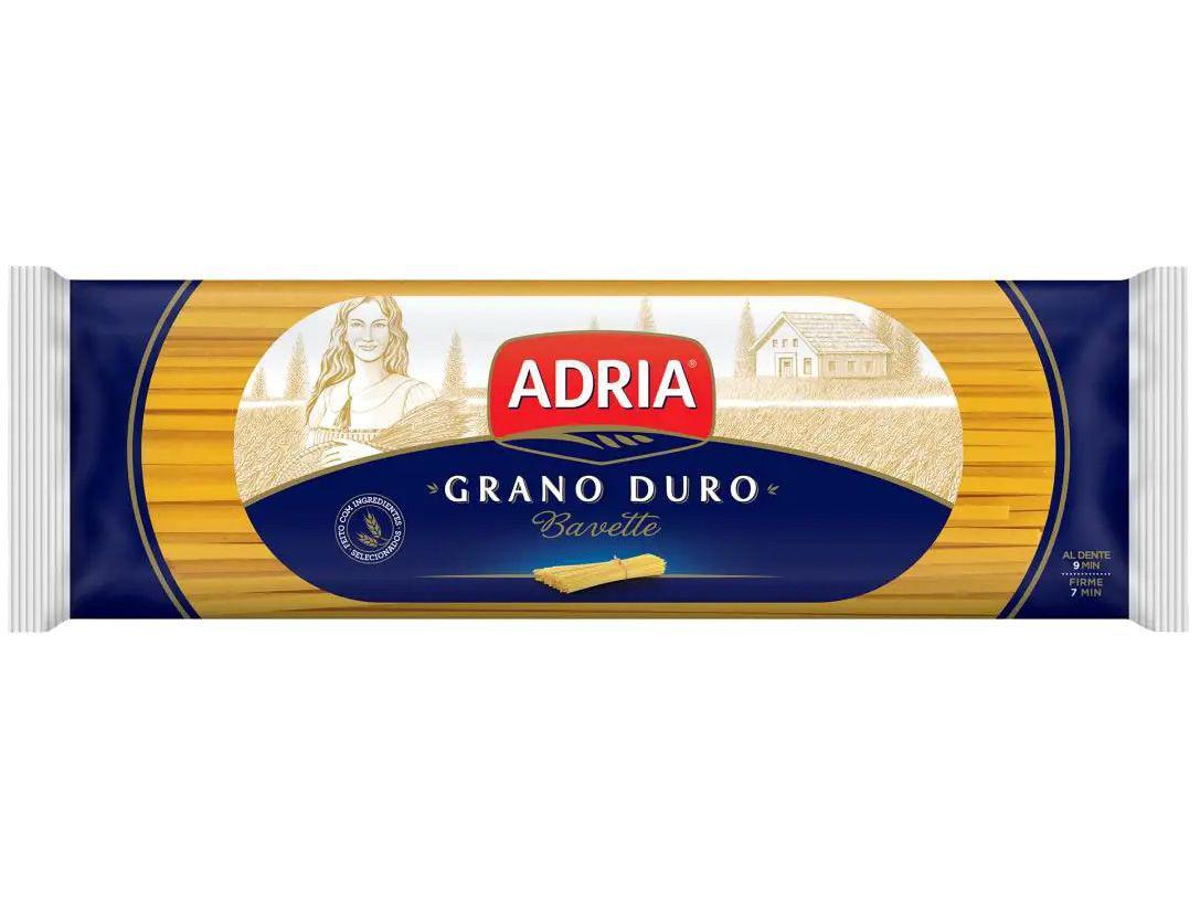 Macarrão Bavette de Sêmola Adria Seco - Grano Duro 500g