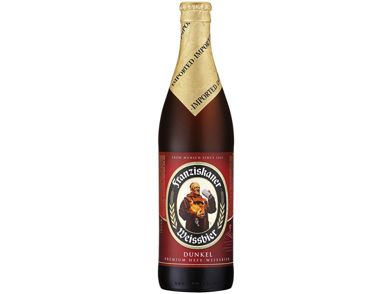 Cerveja Franziskaner Hefe Weissbier Dunkel - 500ml