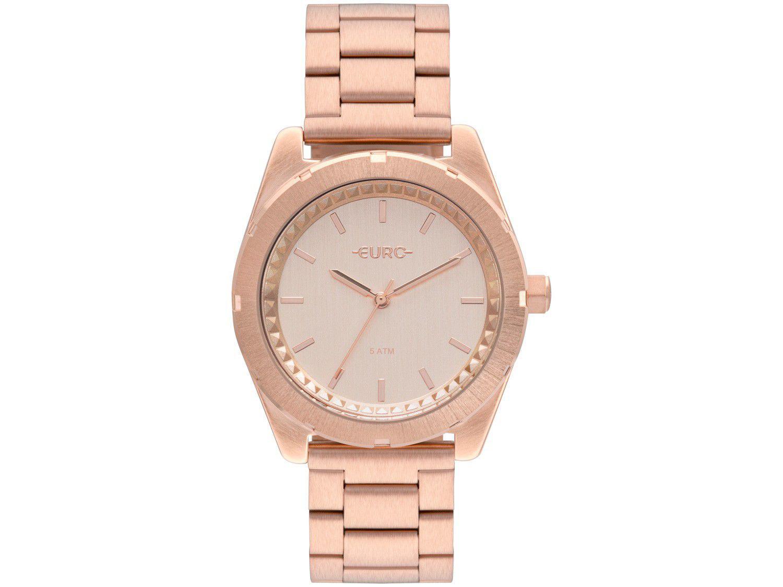 Relógio Feminino Euro Analógico - EU2036YNV/4T Rosé