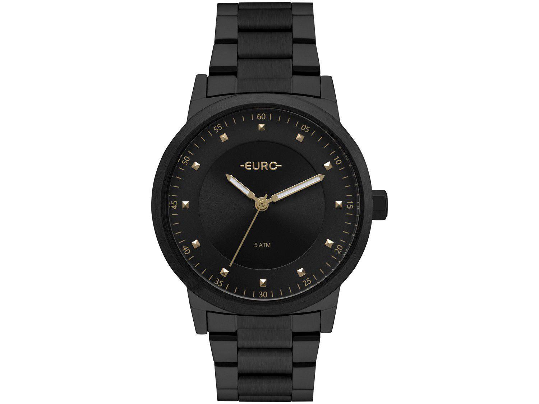 Relógio Feminino Euro Analógico - EU2036YNQ/4P Preto