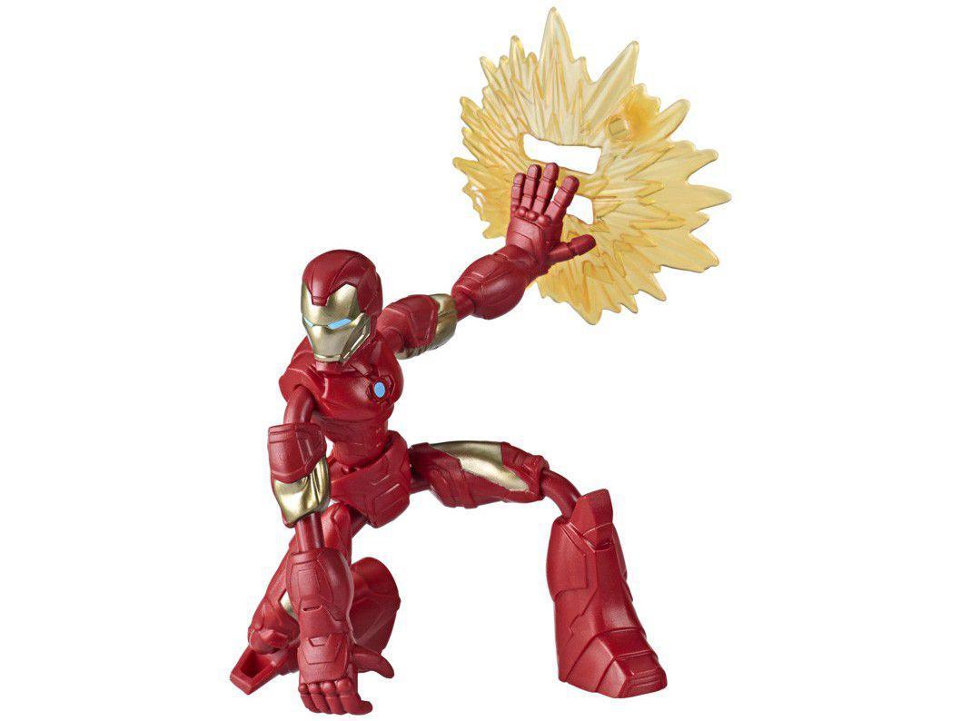Boneco Homem de Ferro Bend and Flex - Marvel Avengers Hasbro