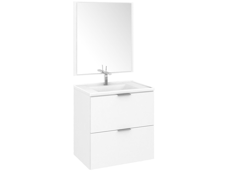 Armário de Banheiro Aéreo com Espelho 3 Gavetas - Fellicci GB23 Berlim