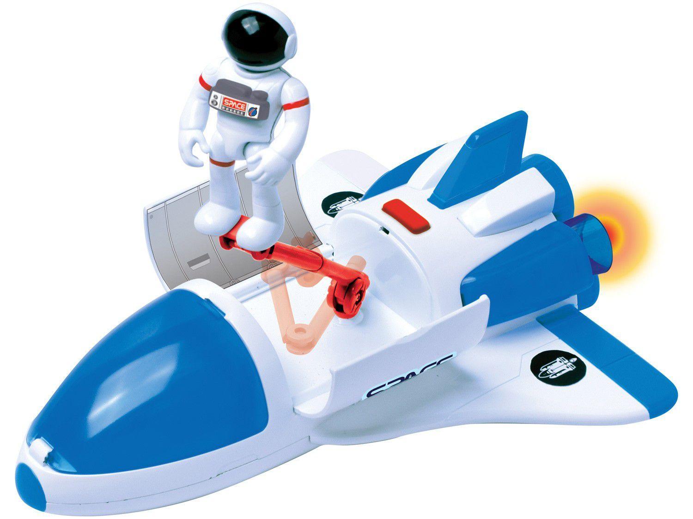 Ônibus Espacial de Brinquedo Astronautas - Exploradores do Espaço com Acessórios Fun