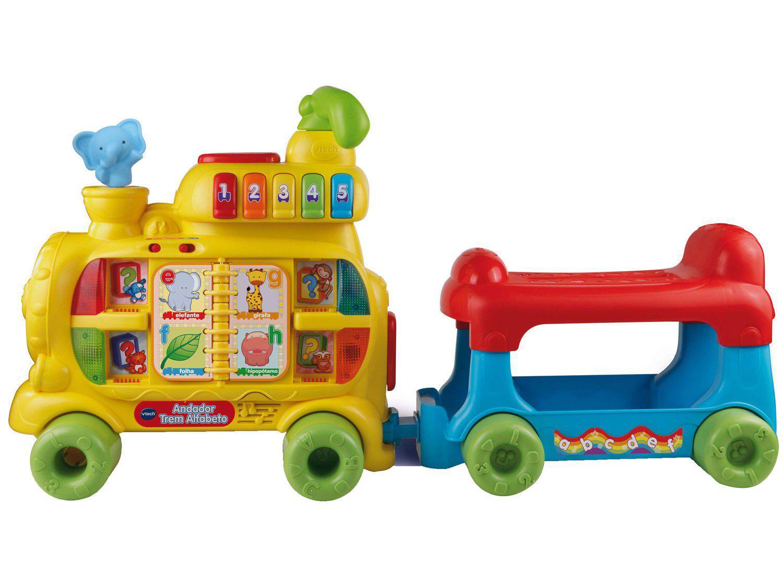 Andador Infantil Trem Alfabeto de Empurrar - Musical VTech
