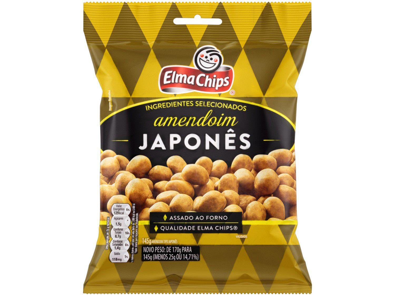 Amendoim Japonês Elma Chips - 145g