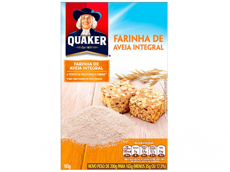 Farinha de Aveia Integral Quaker - 165g