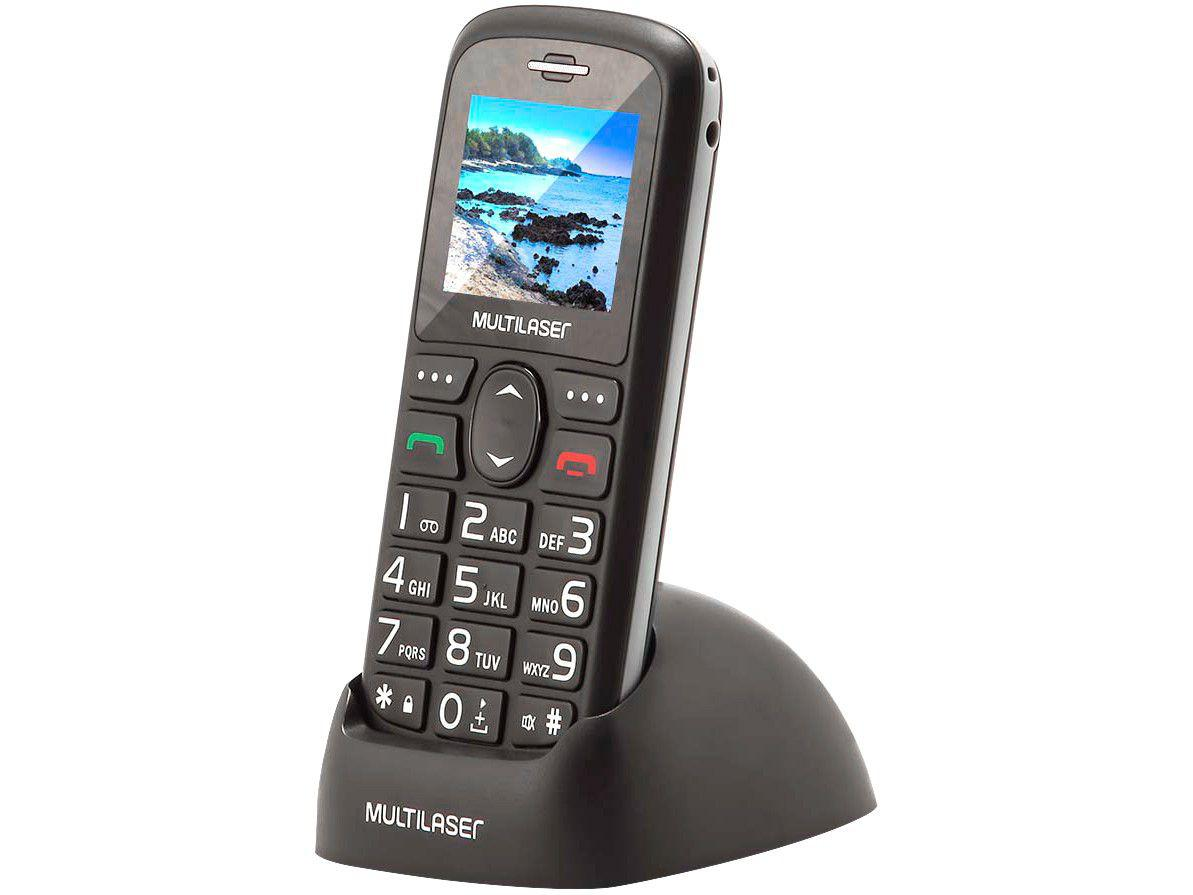 Celular Multilaser Vita 3G Dual Chip 128MB - Bluetooth com Base Carregadora Desbloqueado