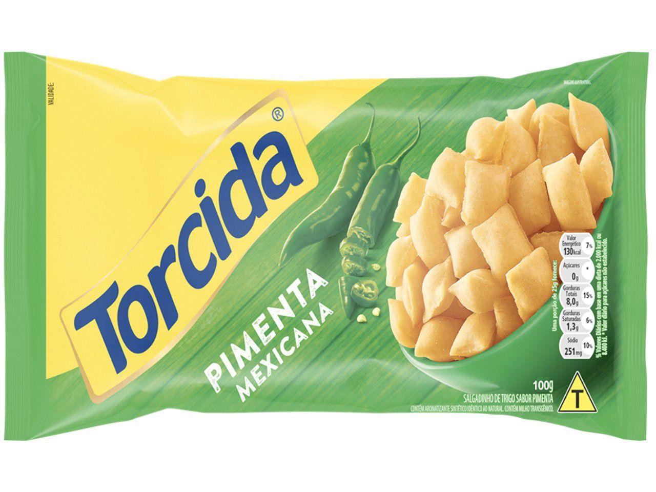 Salgadinho Pimenta Mexicana 100g Torcida