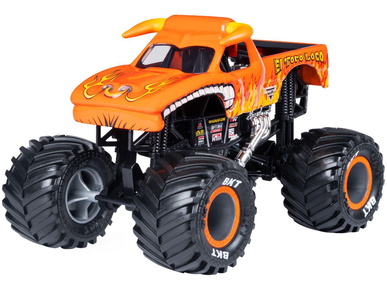 Carrinho Monster Jam Modelo El Toro - Loco Sunny Brinquedos