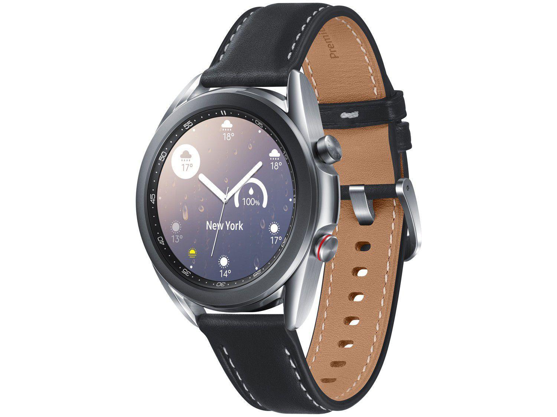 Smartwatch Samsung Galaxy Watch 3 LTE Prata - 41mm 8GB
