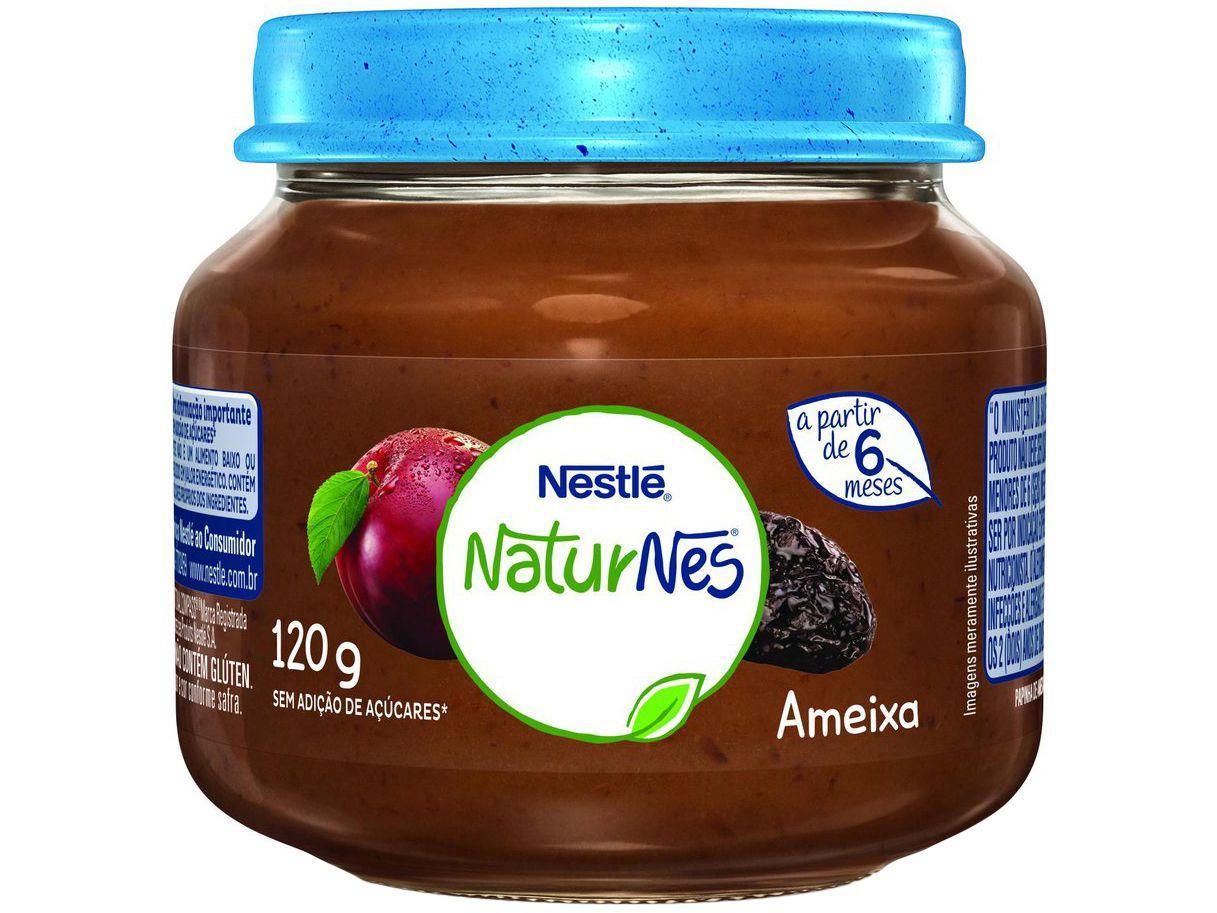 Papinha NaturNes Ameixa 120g - A Partir de 6 Meses