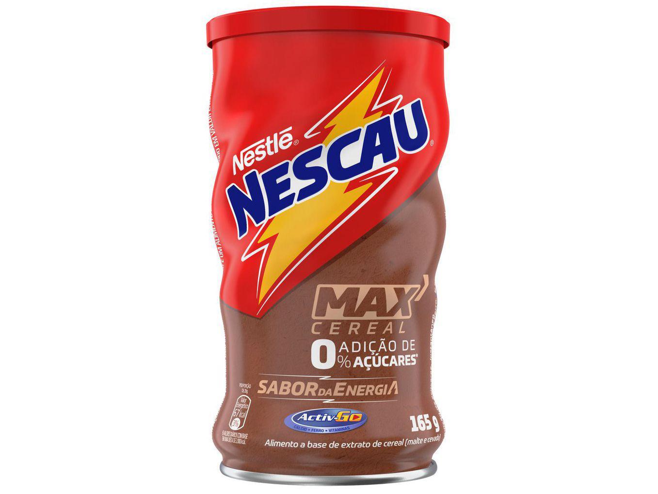 Achocolatado em Pó Maltado Nescau Max Cereal - Diet 165g