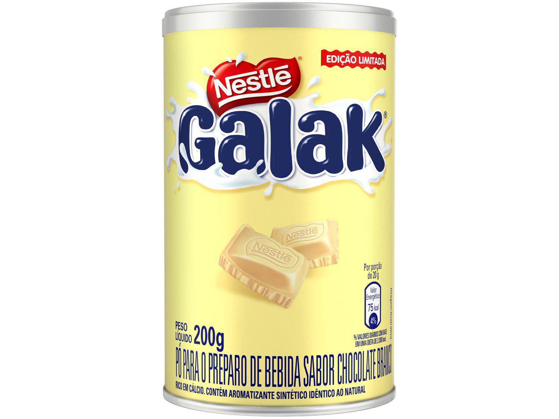 Achocolatado em Pó Chocolate Branco Galak - 200g