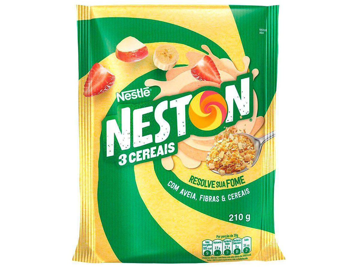 Cereal Matinal Neston 3 Cereais - 210g