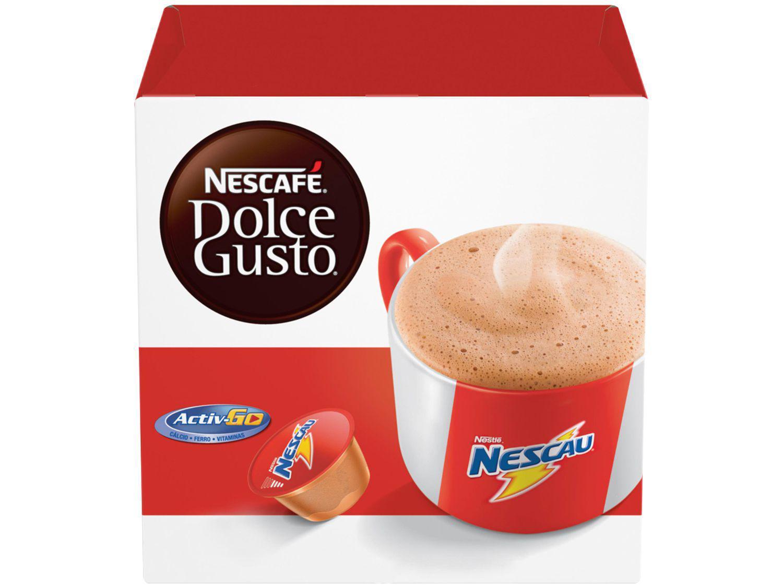 Cápsula Achocolatado Nescafé Nescau - Dolce Gusto 16 Unidades