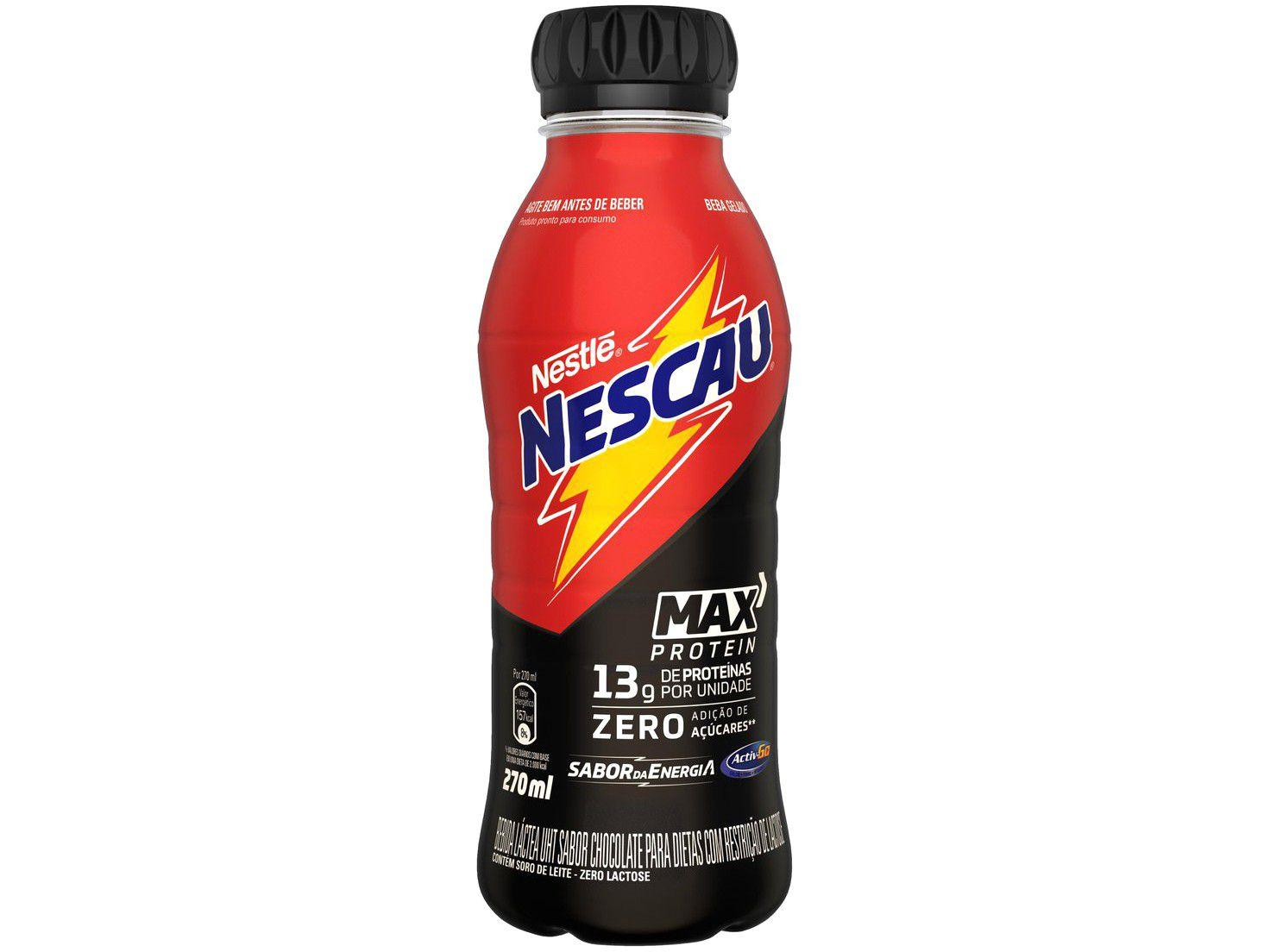 Bebida Láctea Nescau Protein+ Chocolate 270ml