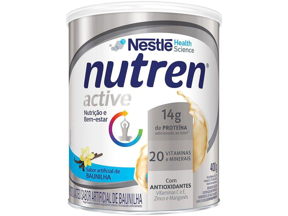 Composto Lácteo Adulto Nutren Baunilha - Active 400g
