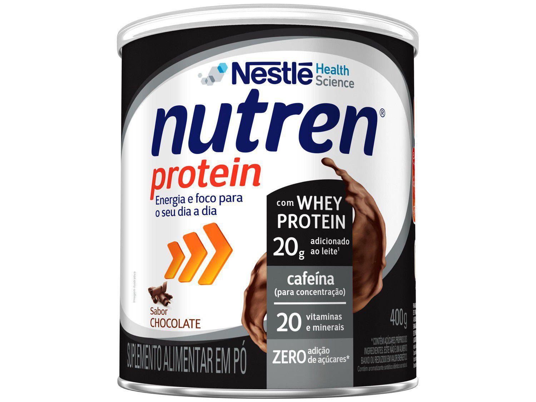 Suplemento Alimentar Adulto Nutren Chocolate - Protein Zero 400g