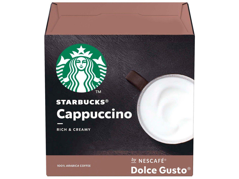 Cápsula Cappuccino Nescafé Dolce Gusto Starbucks - 12 Unidades