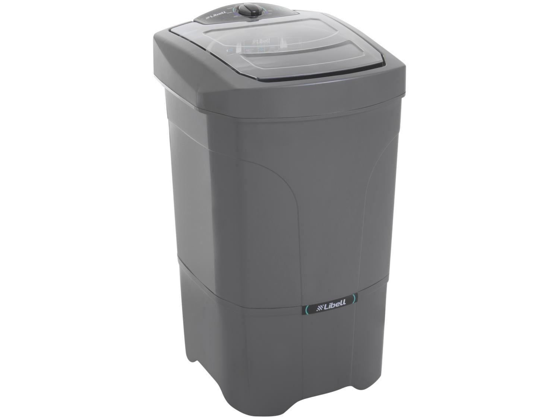 Lavadora de Roupas Libell Premium 12kg - 5 Programas de Lavagem Prata