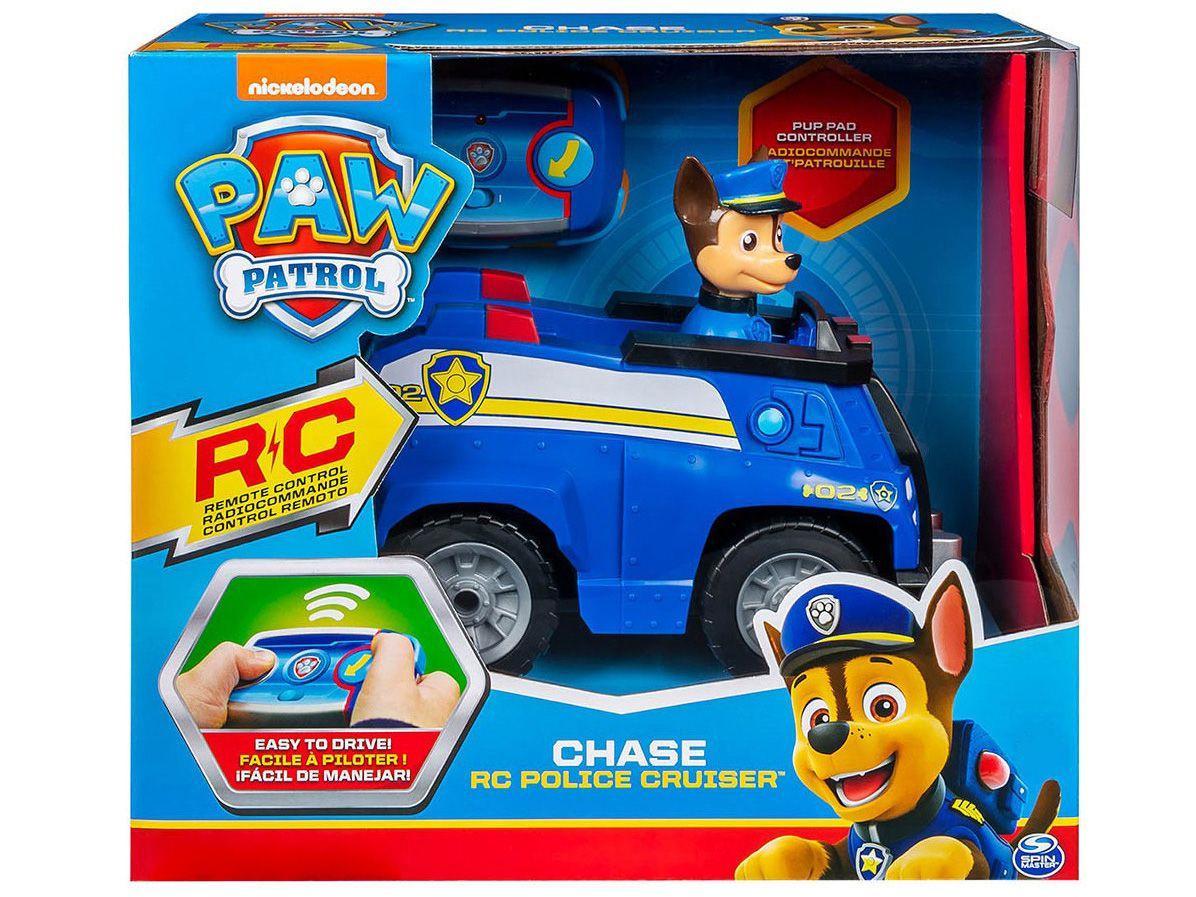 Carrinho de Controle Remoto RC Police Cruiser - Sunny Brinquedos Colorido
