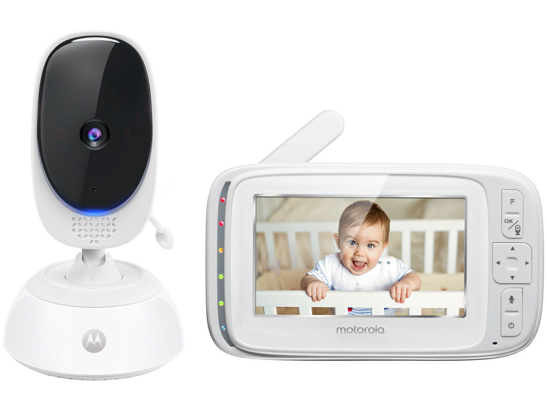 """Babá Eletrônica Motorola BLISS54 Tela de 4,3"""" - Comunicação Bidirecional"""