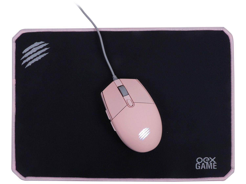Kit Gamer Mouse + Mouse Pad - OEX Game MC104 Combo Arya