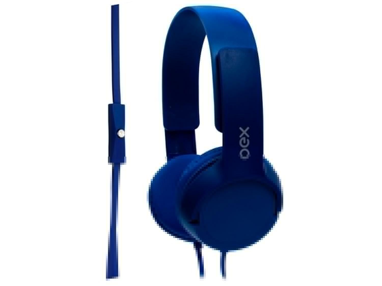 Headphone Infantil OEX Kids HP303 Teen - com Microfone Azul