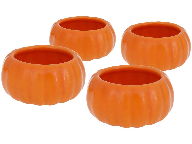 Conjunto de Bowls 4 Peças Cerâmica Scalla - Mini Moranga 68ml