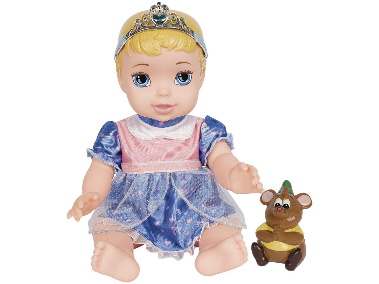 Boneca Baby Cinderela Disney Princesas 32cm - com Acessórios Mimo Toys