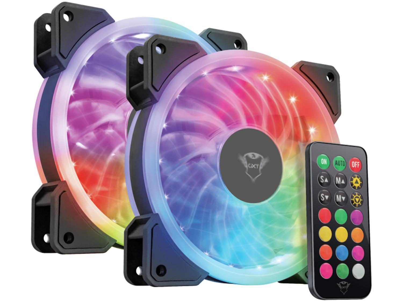 Cooler RGB Trust GXT 770 - 2 Unidades