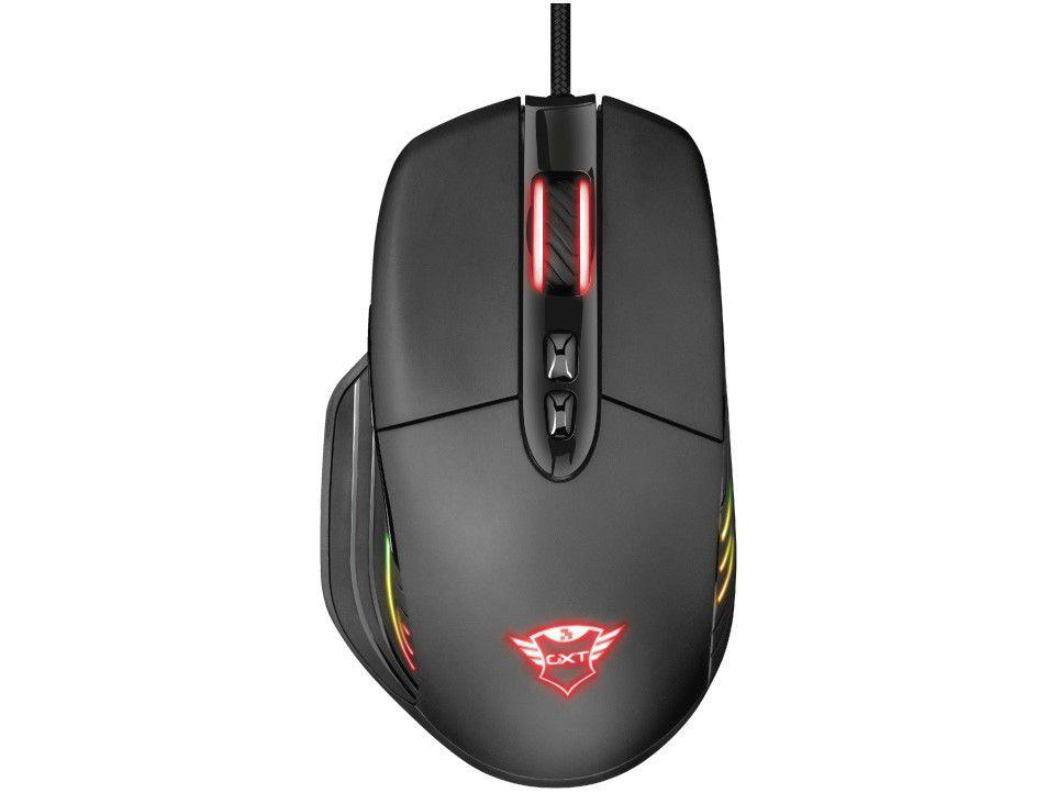 Mouse Gamer RGB Trust Óptico 10.000DPI - 8 Botões GXT 940 Xidon