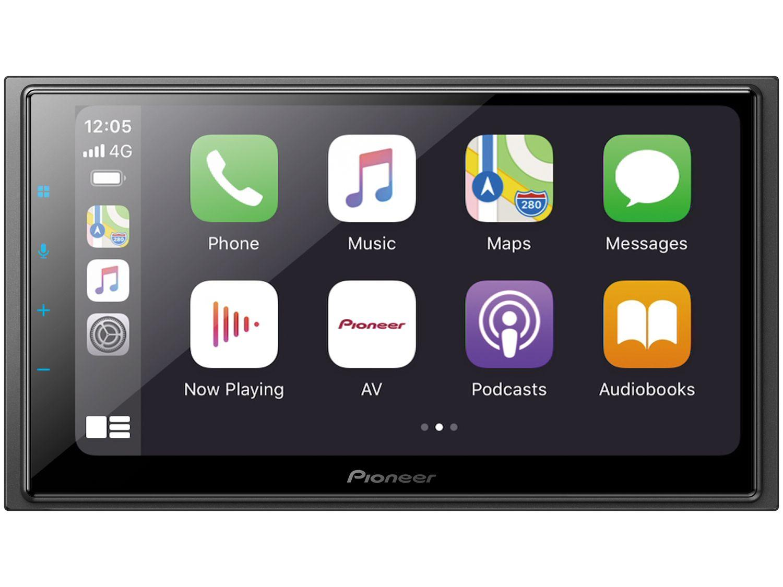 "Central Multimídia Pioneer 2 DIN TV Digital - Bluetooth Wi-fi 6,8"" Touch USB Série-Z DMH-Z6380TV"