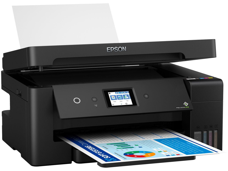 Impressora Multifuncional Epson EcoTank L14150 - Tanque de Tinta Colorida Wi-Fi