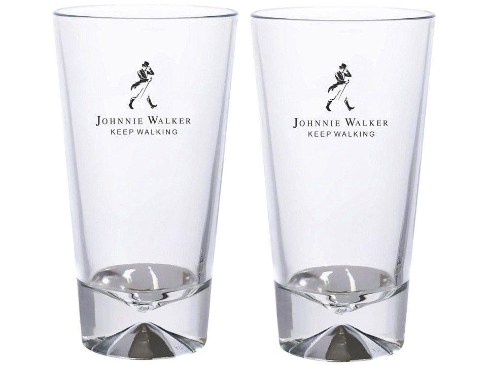 Jogo de Copos de Vidro para Whisky 450ml - 2 Peças Johnnie Walker 8608573