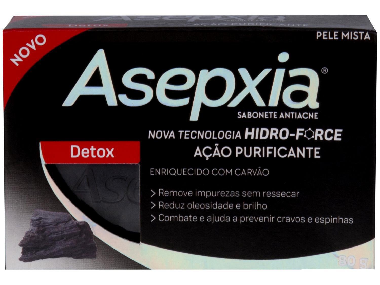 Sabonete em Barra Facial Asepxia - Detox 80g