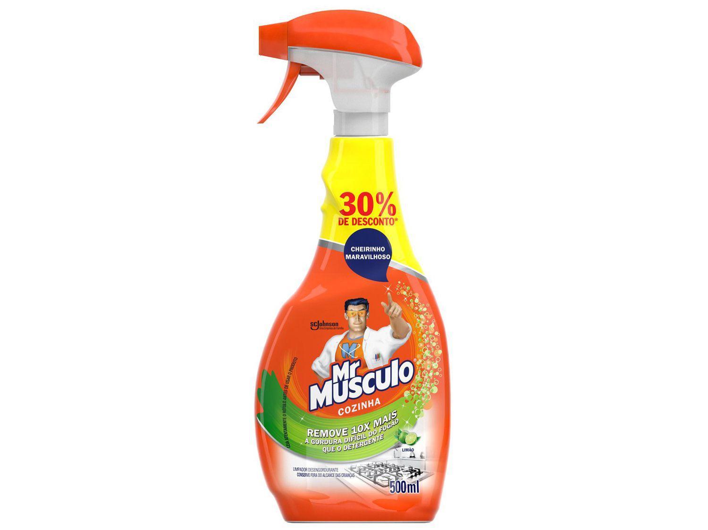 Desengordurante Mr Músculo Cozinha Limão - 500ml