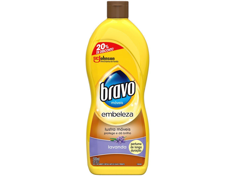 Lustra Móveis Bravo Lavanda - 500ml
