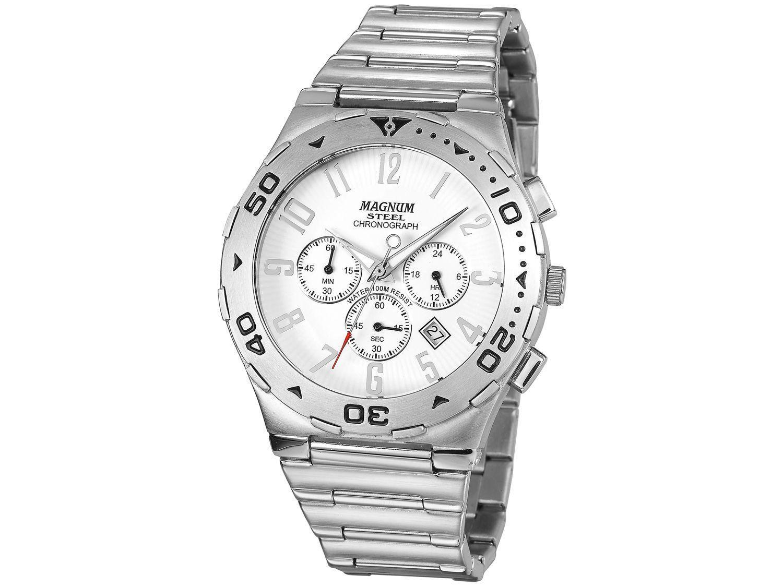 Relógio Masculino Magnum Analógico - MA30310Q Prata