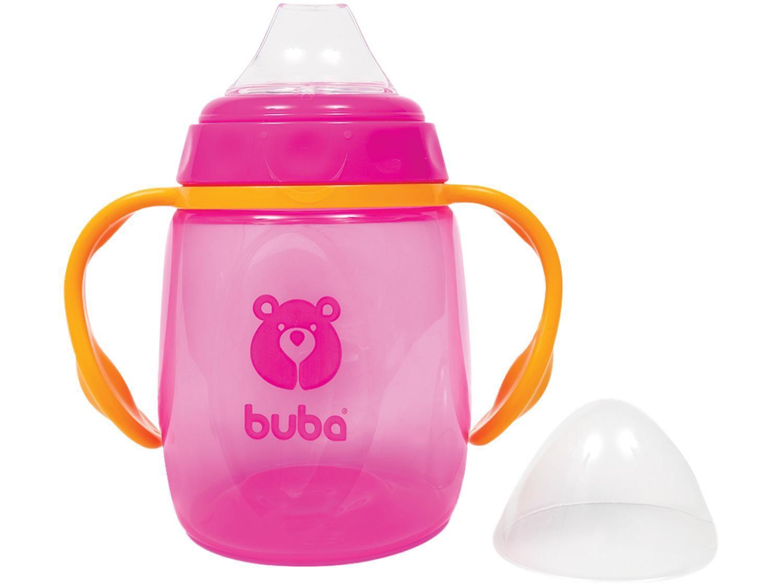 Copo Infantil Antivazamento com Alça e Tampa - 175ml Buba Baby