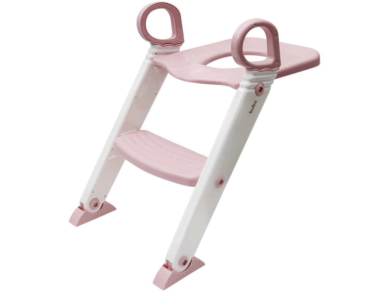 Redutor de Assento com Escada Buba - Rosa Baby