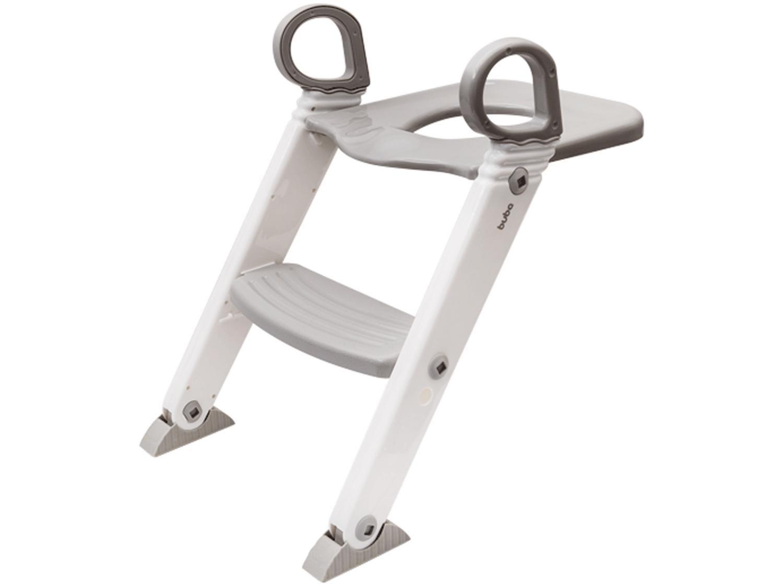 Redutor de Assento com Escada Buba - Cinza Baby