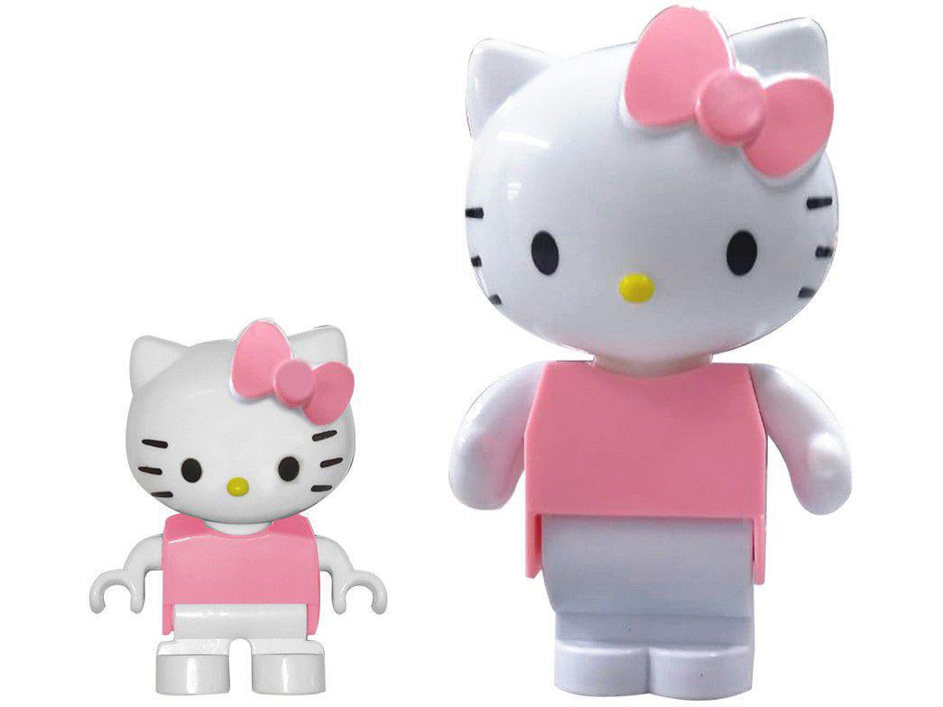 Blocos de Montar Coleção Hello Kitty com Blocos - Monte Líbano 8 Peças