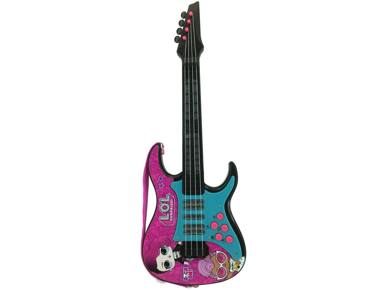 Guitarra de Brinquedo LOL - Candide