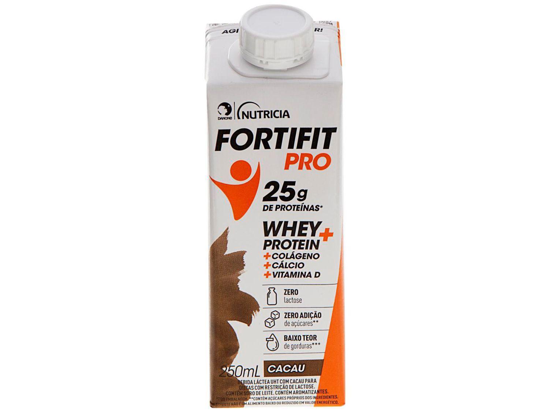Bebida Láctea Fortifit Pro Cacau Zero Açúcar - 250ml